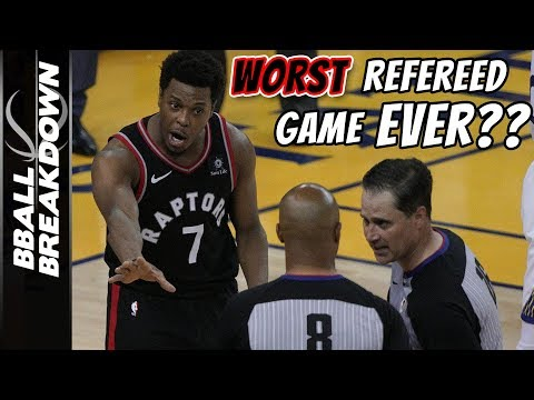 2019 NBA Finals Game 3: The WORST Refereed Game Ever?