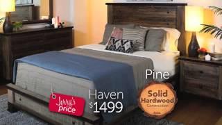 Jerome's Furniture Solid Wood Bedroom Furniture