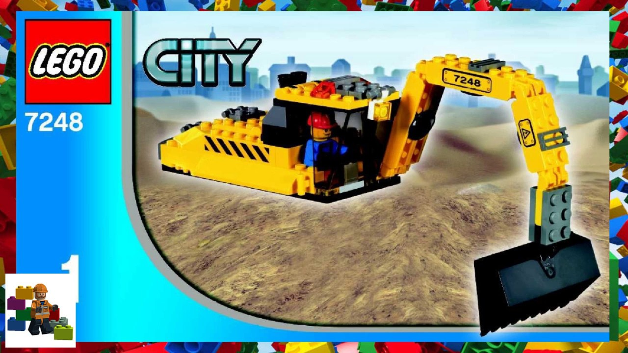 Lego Instructions City Construction 7248 Digger Book 1