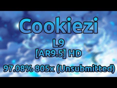 Cookiezi | Paraoka - L9 [AR9.5] HD 97.08% 805/1094x ★9.1 (Unsubmitted)