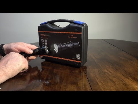 BYBLIGHT F12 Zoomable Flashlight Review