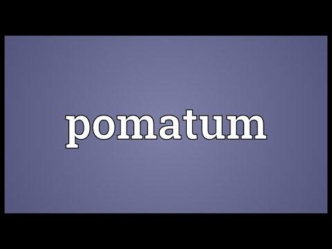 Header of pomatum