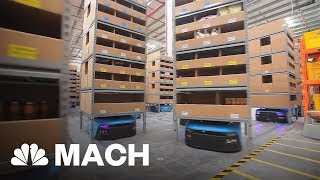 This Warehouse In China Is Managed By Robots   Mach   NBC News