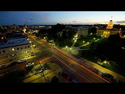 The University of Iowa - Time Lapse August 2014 on YouTube