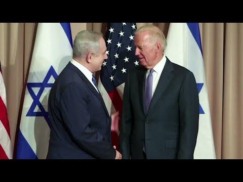 Israel's Netanyahu Congratulates Biden, Thanks Trump