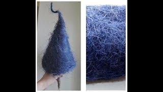 как сделать елочку из сизаля