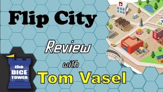 Flip City Review - with Tom Vasel
