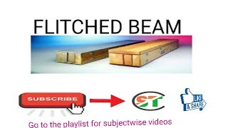Flitched Beam in hindi ( SOM LEC --35)