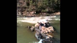 rio Samburá em Piumhui MG