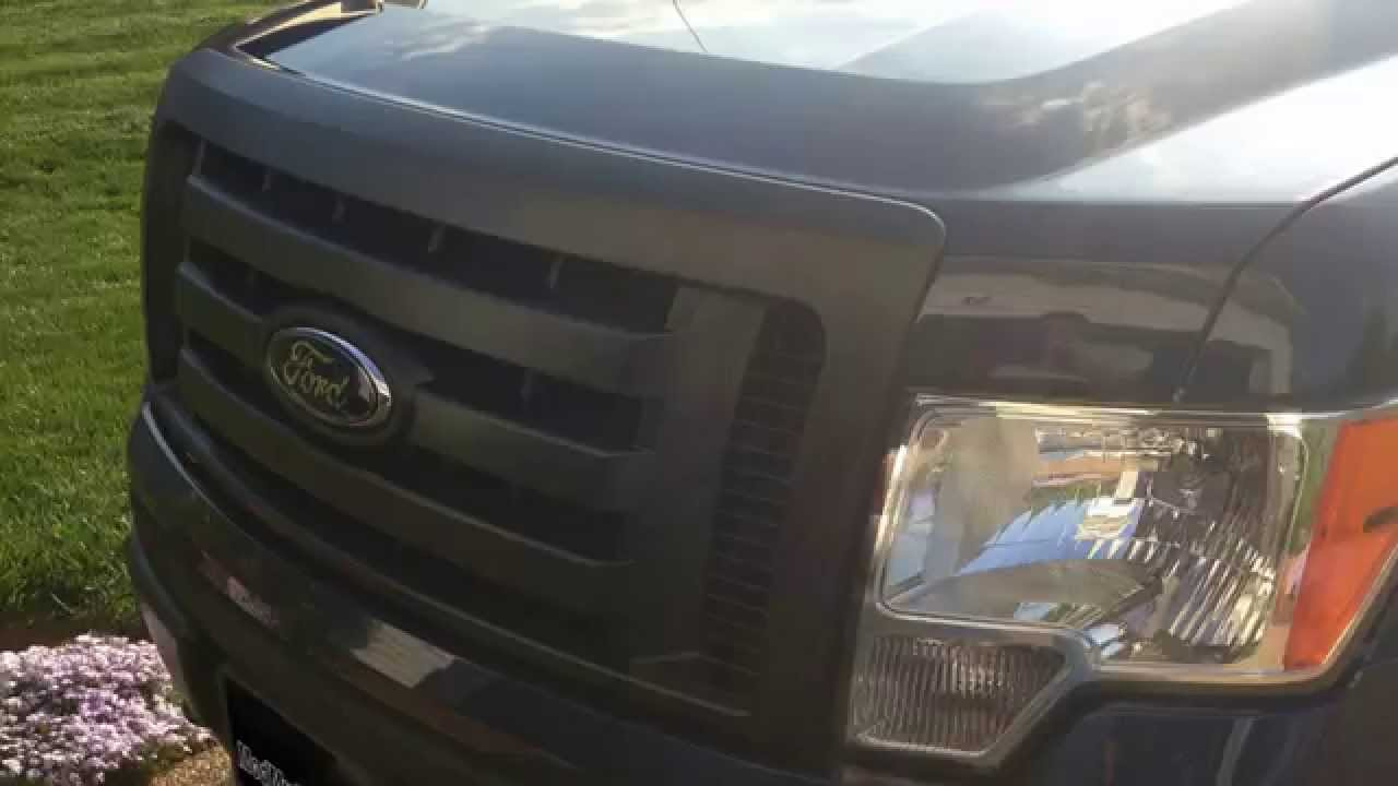 How to remove f 150 grille assembly 2009 2013 ford f150
