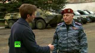 Командир подразделения «Беркут» о беспорядках в Киеве