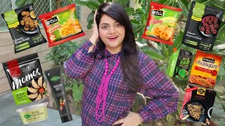 Living on FROZEN FOOD for 24 HOURS Challenge | Food Challenge