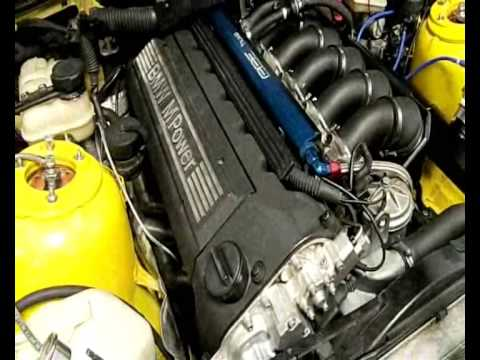 BMW M3 E30 >> BMW M3 e36 3.2L Turbo 1er demarrage - YouTube
