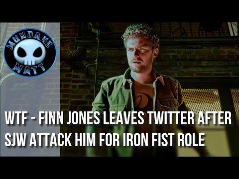 [Internet] WTF - Finn Jones leaves twitter after SJW attack him for IRON FIST role