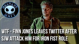 [Internet] WTF - Finn Jones leaves twitter after SJW attack him for IRON FIST role(Finn Jones just cannot catch a break when it comes to playing IRON FIST for Netflix's Marvel's series. First he was attacked for playing the role of Daniel Rand, ..., 2017-03-09T02:00:24.000Z)