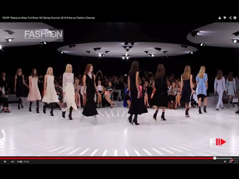 """DIOR"" Ready-to-Wear Full Show HD Spring Summer 2015 Paris by Fashion Channel"
