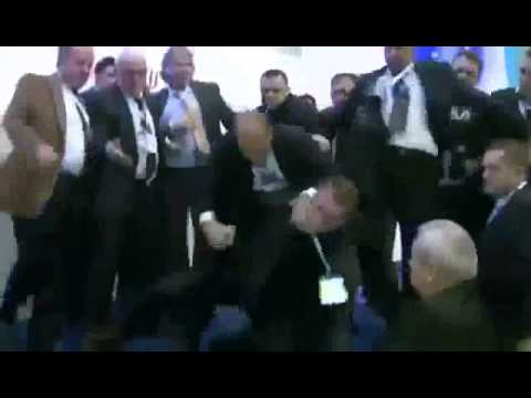 Ahmed Dogan Assassination Attempt. INCREDIBLE VIDEO - Bulgaria