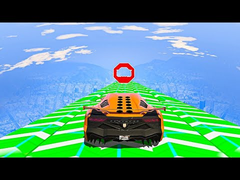 ULTIMATE DON'T MOVE STUNT RACE! - GTA 5 Funny Moments