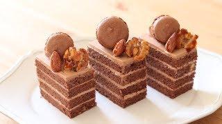Chocolate cake|ASMR