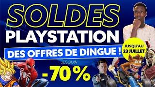 SOLDES PLAYSTATION 4 : Les 10 MEILLEURES PROMOS DE JUILLET du Store !
