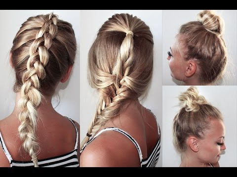 Leichte und lockere Sommer/ Strand Frisuren //Easy Summer / Beach Hairstyles