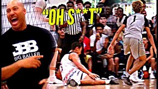 LaMelo Ball DESTROYS Defender's ANKLES In Big Ballers CRAZY GAME vs Gamepoint Elite! LaVar WILDIN