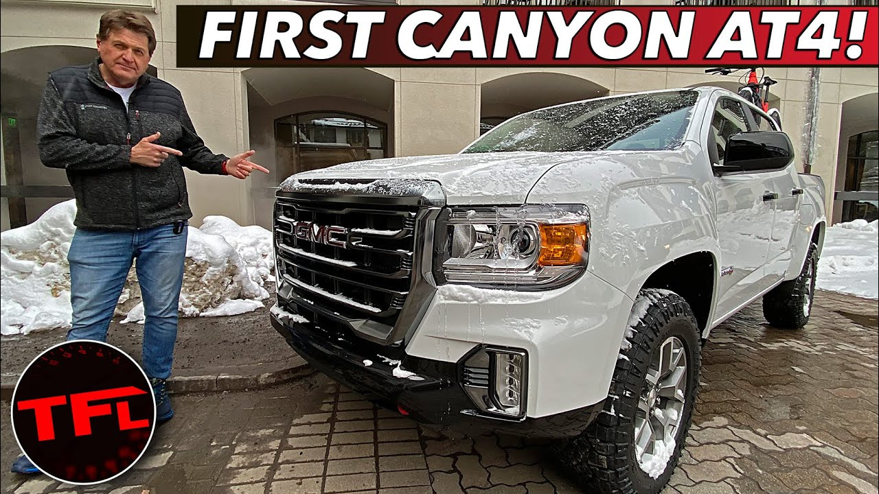 Release Date 2021 Gmc Canyon Zr2