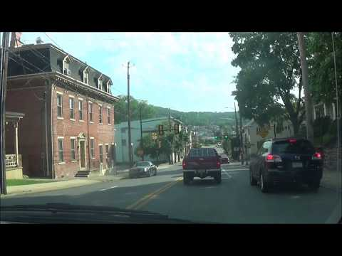 Driving on Pennsylvania Route 378 S (Bethlehem, PA to Center Valley, PA)