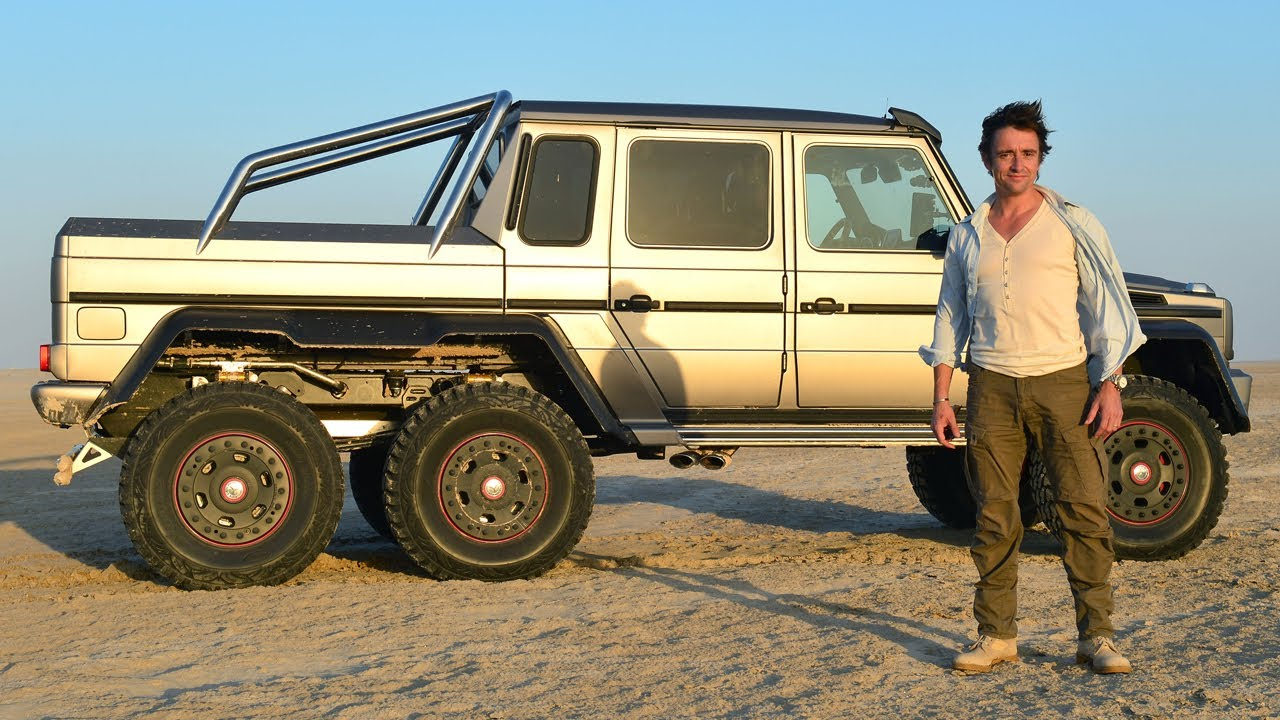 top gear inside look: richard's six-wheeler in the desert - bbc