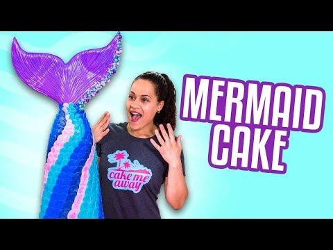 MERMAID CAKE! | How To Cake It