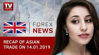 InstaForex tv news: 14.01.2019: Traders overcautious about USD