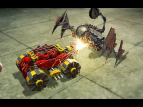 Robot Fighting 2 >> Call Me Terminator Robot Fighting 2 Minibots 3d Youtube