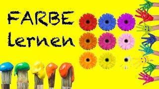 Farben lernen – mit viel Spaß lernen Kinder Farbe | Vorschule für kinderlernen - Farbe lernen