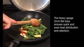 AGA Cookshop cast aluminium wok