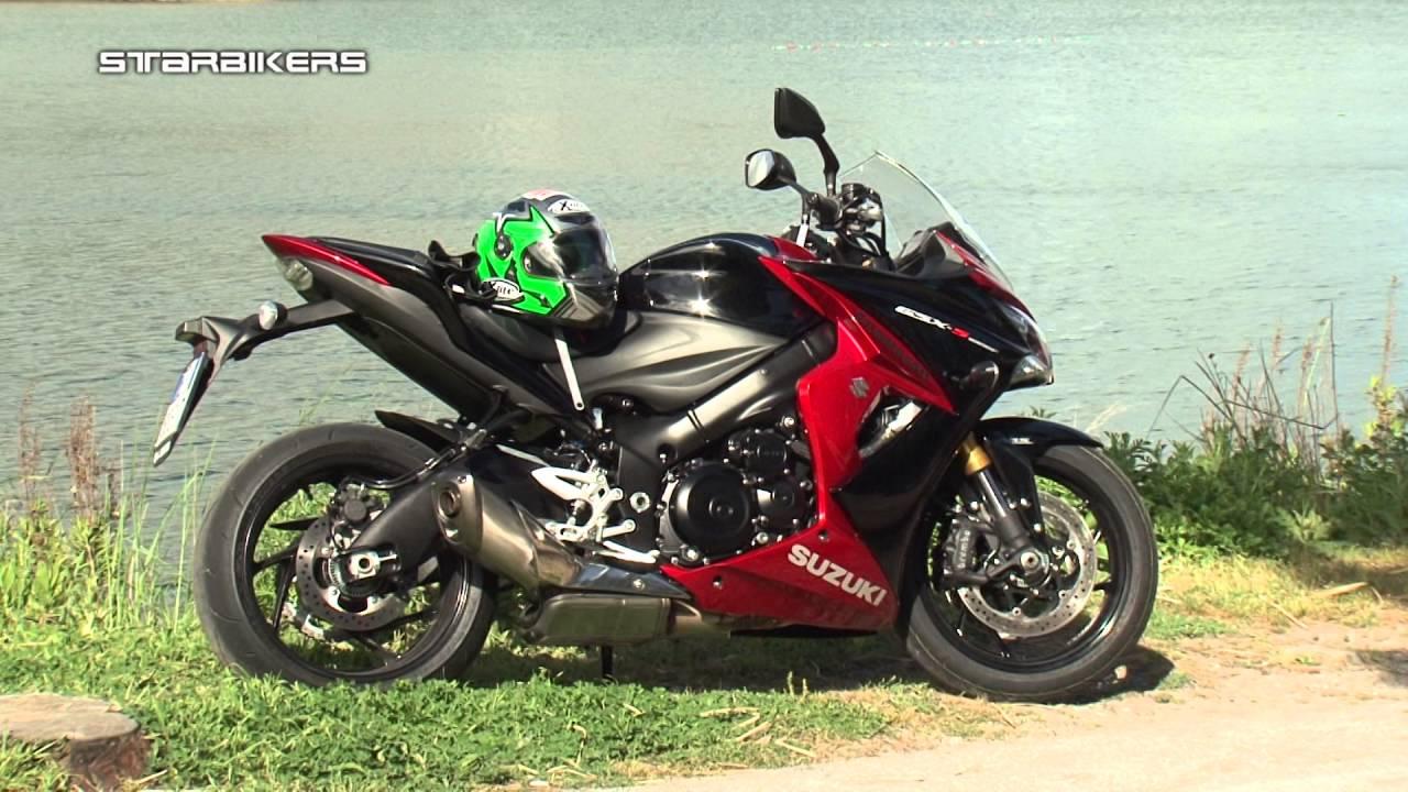SUZUKI GSXS1000F test con LAMBERTI LA MOTO NAPOLI - YouTube