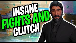 INSANE CLUTCH AND AMAZING BUILD FIGHTS| Fortnite Duo Builder pro layout (xbox)