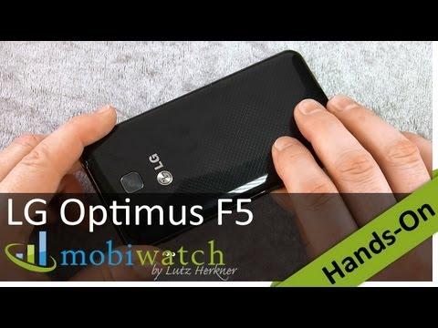 Hands On The LG Optimus F5: 4G Beauty For 350 Bucks