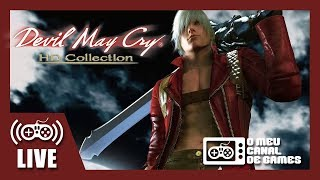 [Live] Devil May Cry 2 no HD Collection (PS4 Pro) - AQUECIMENTO DMC5 AO VIVO