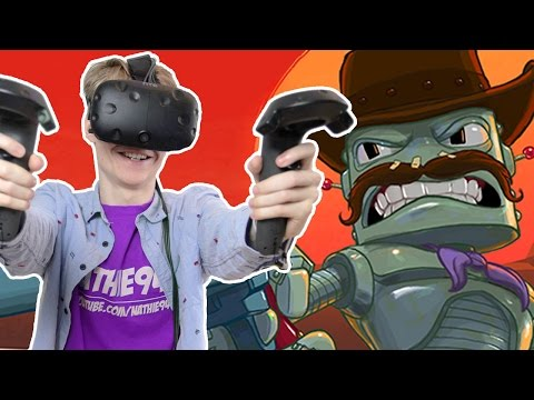 MULTIPLAYER WILD WEST SHOOTER! | Cowbots and Aliens VR (HTC Vive Gameplay)