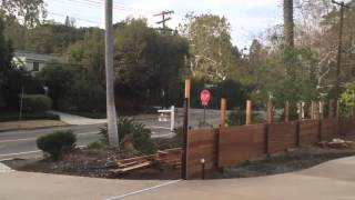 Mangaris Fence & Gates | Brentwood CA | Mulholland Security 1-800-562-5770