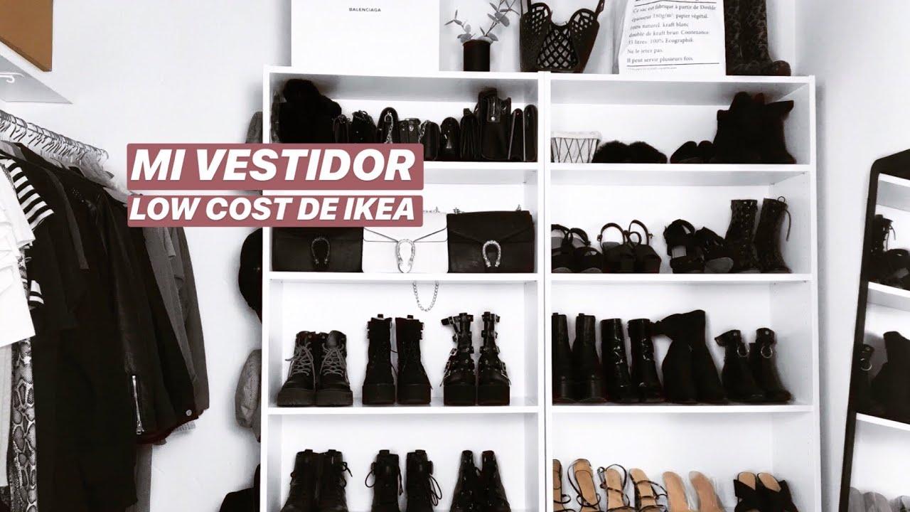 Vestidor Low Cost Ikea Closet Tour Como Hacer Un Vestidor Pequeño Y Barato
