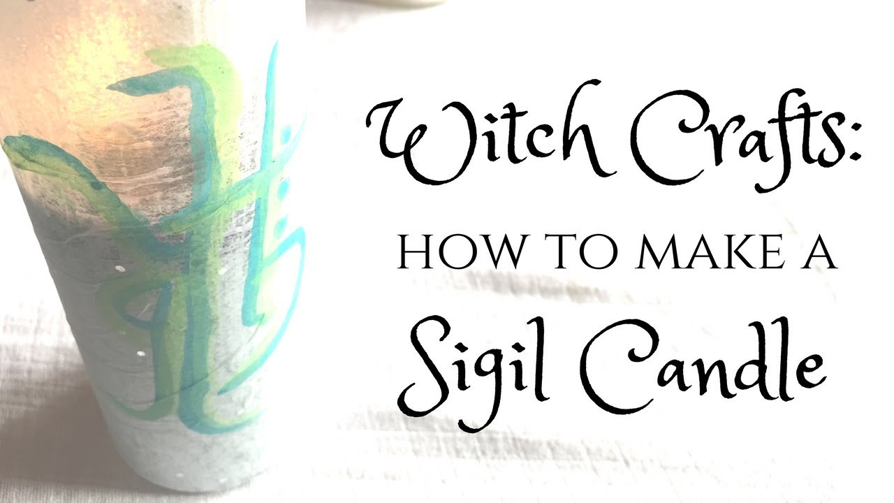 Witch Crafts | Create Your Own Sigil Candle for Candlemagick