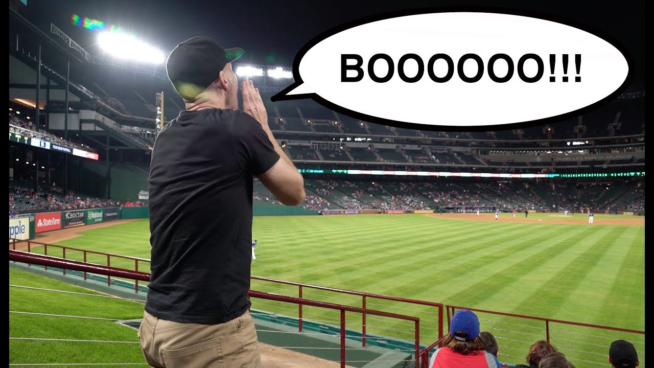 Download OH NO THEY DIDN'T!! -- Getting fired up at Globe Life Park