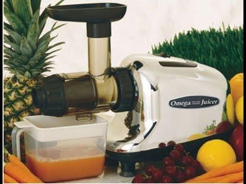 Extrator De Suco Slow Juicer Kitchenaid : Omega Juicer extrator de sucos slow juicer sucos e alimentacao crua - YouTube