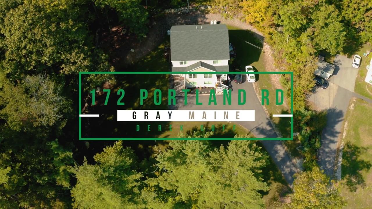 Home For Sale In Gray Maine 172 Portland Road Unit B Derek