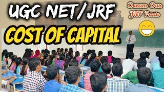 Cost of Capital || Cost of Debt (Kd), Cost of Equity (Ke, Kr) || UGC NET/JRF Paper-2 Commerce