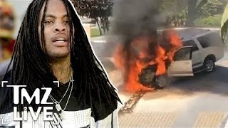 Waka Flocka: Ride Catches Fire In Mexico | TMZ Live