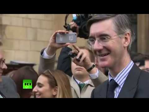LIVE: Jacob Rees-Mogg gives statement after handing in letter of no confidence.