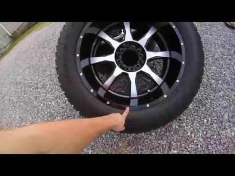 The Silverado got new wheels!
