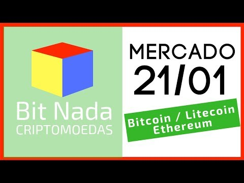 Mercado de Cripto! 21/01 Bitcoin / Litecoin / Ethereum (Hard Fork)